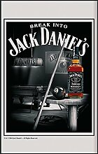 Close Up Jack Daniel's XL Spiegel Snooker mit