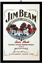 Close Up Jim Beam Sour Mash (22cm x 32cm)