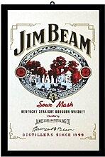 Close Up Jim Beam Sour Mash (22cm x 32cm)
