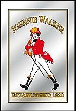 Close Up Johnnie Walker Spiegel Established 1820