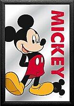 Close Up Mickey Maus Spiegel Mickey