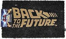 Close Up Zurück in die Zukunft Fußmatte Logo