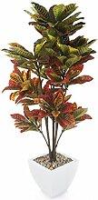 Closer to Nature Kunstblumen, Croton 1.22 meters, Künstliche Pflanze und Baum