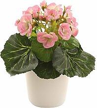 Closer To Nature Kunstpflanze 19,1cm Rosa afrikanischen lila–Kunstpflanze Seide und Baum Serie