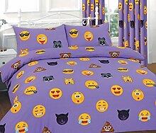 Clossy London Bettwäsche-Set mit Kissen- und