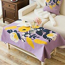Cloth dicke baumwolle und leinen tischtuch wohnzimmer tv schrank staub-proof cover-B 140x230cm(55x91inch)