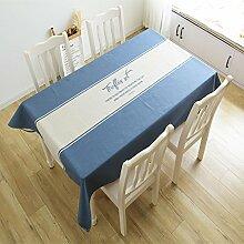 Cloth Englisch einfache rechteck tischdecke