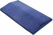 CLOTHES- Bett-Taille Kissen-Schutz-Schlaf-Lenden-Auflage-Gedächtnis-Baumwollkern, der die Taille trägt, kann abnehmbar sein Rückenkissen ( Farbe : Color A , größe : 60*26*6*3cm )