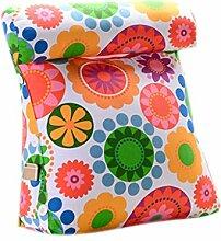 CLOTHES- Dreieck Bedside Big Kissen Office Lendenwirbelsäule Back Pad Bett schützen die Hals Kissen Sofa Kissen Kissen Rückenkissen ( Farbe : D )