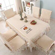 Clothes UK- Europäischen Stil Tischdecken Stuhl