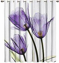 Cloud Dream Home Verdunkelungsvorhänge violett