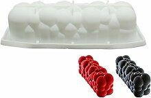 Cloud Silikonform Serie Desserts 3D Kunst Kuchen
