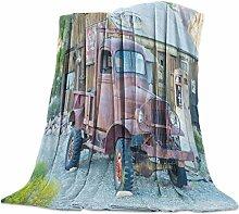 Clouday Bettdecke aus Flanell und Fleece, Alpaka-