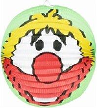 Clown-Lampion in Ballonform
