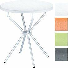 CLP Balkon Bistro-Tisch ELFO, rund Ø 70 cm,
