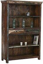 CLP Bücherschrank Sarika aus recyceltem Teakholz