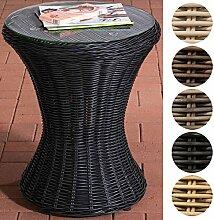 CLP Design Poly-Rattan Beistell-Tisch SANDINO,