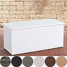 CLP Polyrattan Auflagenbox Comfy l Gartentruhe