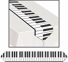 Club 12Stück bedruckt Piano Tastatur