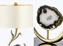 CMMT Schreibtischlampe Post-Modern Weiß Achat