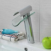CMMWA Bad Waschbeckenhahn Wasserhahn mit warmen