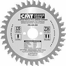 CMT 296.120.36h Kreissägeblatt für Materialien nicht eisenhaltigen, Kunststoff und Laminat (Reihe Industrie), Metall/grau