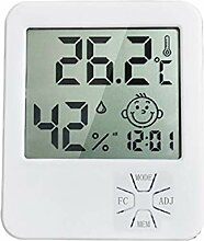 CMTTOME Thermometer Innen,LCD Digitales Thermo