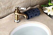 CNBBGJ Antike Continental im Badezimmer Waschbecken Wasserhahn warmes und kaltes Kupfer Keramik toilette Badewanne Armatur