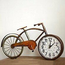 CNBBGJ Im europäischen Stil retro Wecker Bügeleisen Fahrrad Glocke Dekoration Dekorationen, kreative Persönlichkeit Taiwan, C