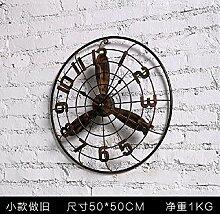 CNBBGJ Retro fan Wand ansehen, Loft style Industrial wind Deko Anhänger, Bar Cafe wand Dekoration, eine