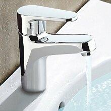 CNBBGJ Warmes und kaltes Wasser Waschbecken Wasserhahn