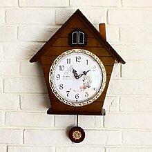 CNBBGJ Wohnzimmer Wanduhr, Home bell Dekoration, Wanduhr, EIN