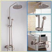 CNBBGJ Zeichnung Apple drei Mischbatterie Dusche Dusche set Edelstahl massage Dusche