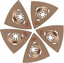 CNBTR 5pcs 80mm Universal Oscillating Triangle
