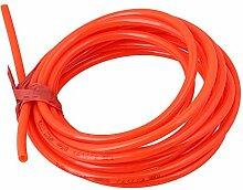 cnbtr orange Dämpfung 5m 8mm (OD) X 5mm (ID) PU Luftkompressor Schläuche Rohr Rohr Schlauch