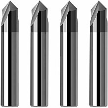 CNC-Carbid Anfasen Fräsers 60 90
