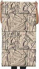 CNMDGBWY Geprägte 3D-Effekt Alte Ägyptische