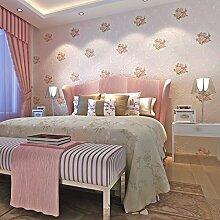 CNMDGBWY Tapete Prägen Große Schlafzimmer