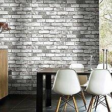 CNMDGBWY Tiefgeprägte 3D Backsteinmauer Papier