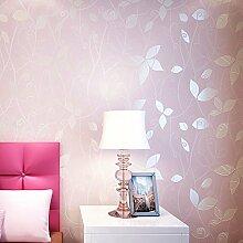 CNMDGBWY Vlies Floral Tapeten 3D Blume Tapete Für