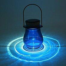 CNMKLM 7,5*7,5*12cm Solar Energie Automatische Lichtempfindliche steuerbare Schalter Led Lampe Atmosphäre Aurora , 220v