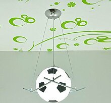 CNMKLM Cartoon Fußball Pendelleuchten kreative Kinderzimmer lampe kinderzimmer zimmer Jungen Kronleuchter