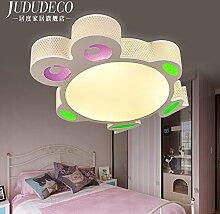 CNMKLM Mode Kinder Cartoon Cartoon Lampe LED Deckenleuchte Schlafzimmer 500*90mm