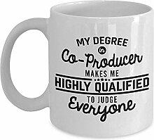 Co-Produzent Kaffeetasse lustige 11 Unzen Neuheit