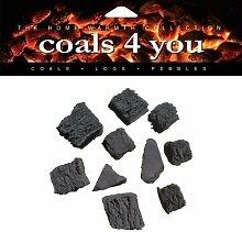 Coals 4 you Stückige Grillkohle, 20 Stück, in Verpackung