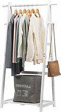 Coat rack-Q QFF Massivholz-Kleiderständer,
