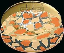 COB LED Decken-Einbau-Strahler 230 Volt Leuchte-Spot 5,5W dimmbar GU10 1223OR Glas-Platte warmweiß