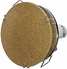 COB LED Decken-Einbau-Strahler 230 Volt Leuchte-Spot 5,5W dimmbar GU10 1263CR Glas-Platte warmweiß
