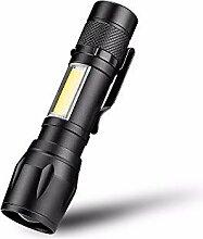 COB LED Taschenlampe super helle wasserdichte