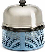 COBB BBQ Grill Holzkohlegrill Picknickgrill Barbecue Tischgrill Pro Blau 702026